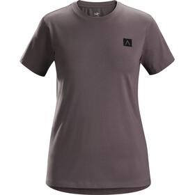 Arc'teryx A Squared Naiset Lyhythihainen paita , harmaa
